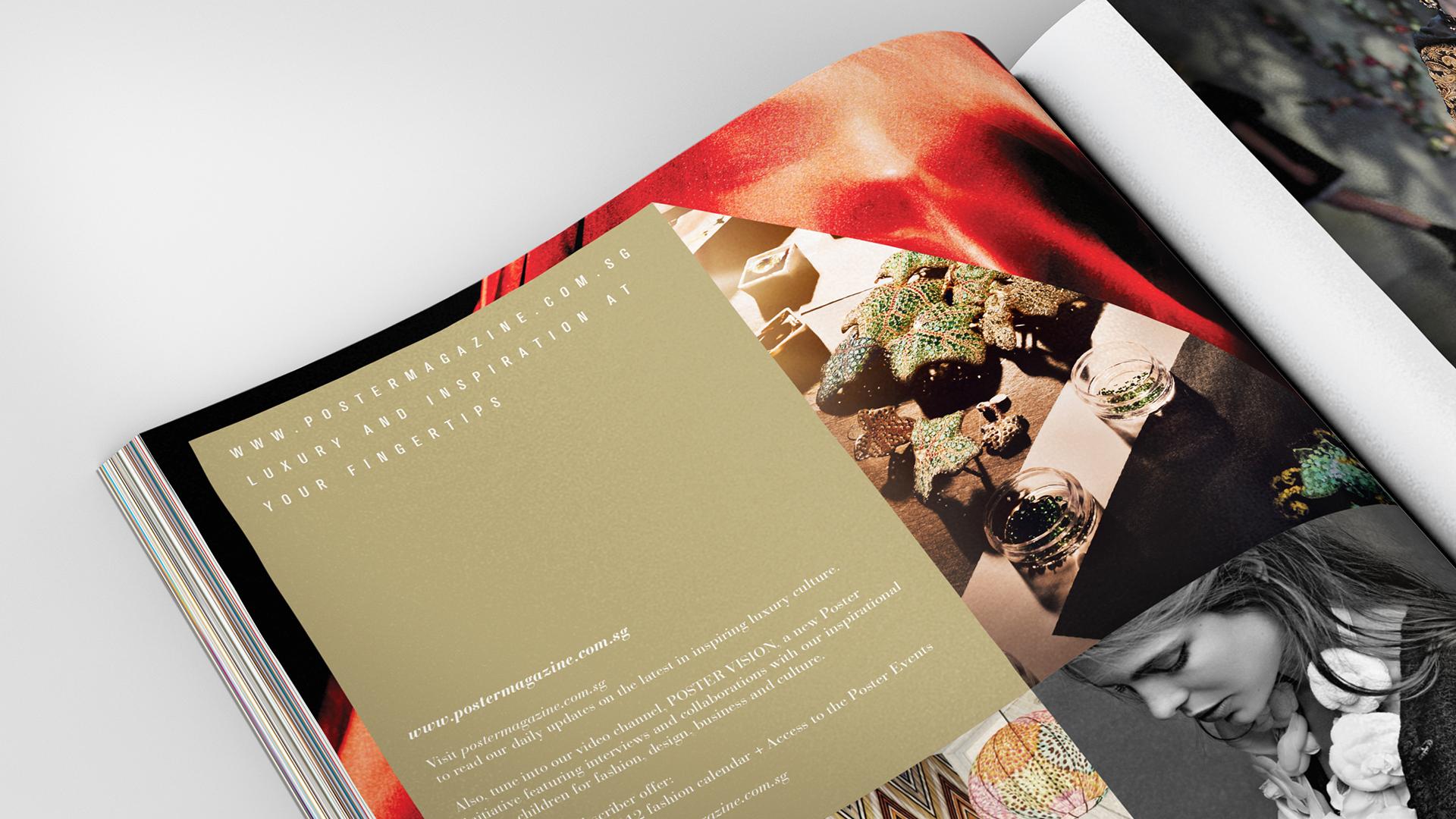 Poster Magazine Tushae Design